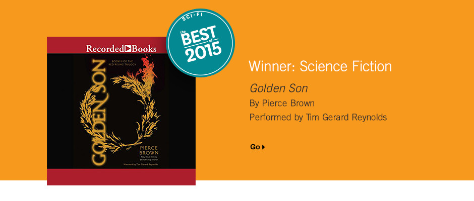 Best Science Fiction 2015: Golden Son by Pierce Brown