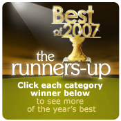 Best of 2007 runners-up