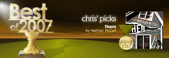 Chris Picks His Favorites
