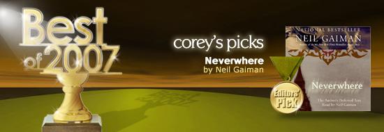 Corey Picks His Favorites