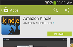 Download the Kindle App