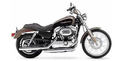 2004 Harley Davidson XL1200C Sportster 1200 Custom:Main Image