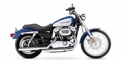 2005 Harley Davidson XL1200C Sportster 1200 Custom:Main Image