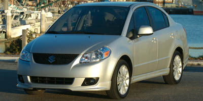 2008 Suzuki SX4:Main Image