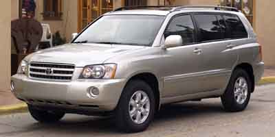 2002 Toyota Highlander Parts And Accessories Automotive