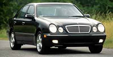 2001 Mercedes-Benz E320:Main Image