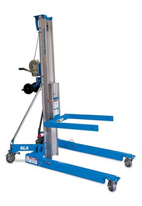 Genie SLA-10 Heavy-Duty Superlift Lifestyle Shot