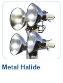 Metal-Halide Light Towers