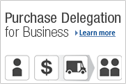 Purchase Delegation