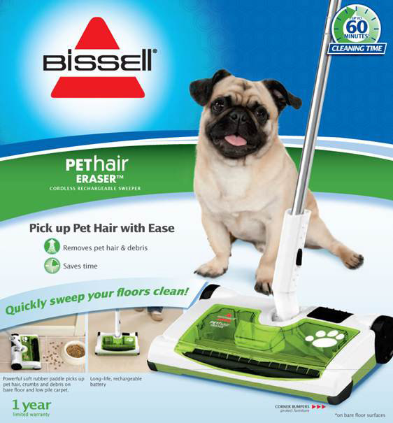 Amazon.com - BISSELL Pet Hair Eraser Rechargeable Sweeper - Carpet