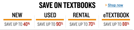 Get your textbooks the way you want them