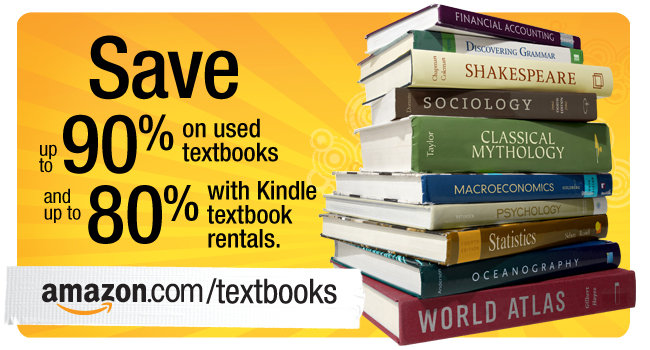 Save up to 90% on used textbooks and up to 80% with Kindle Textbook Rental.