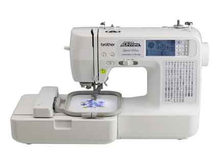 embroidery machine carrying
