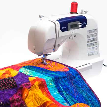 top of pg 3 quilting cs6000 Brother CS6000i Feature Rich Sewing Machine With 60 Built In Stitches, 7 styles of 1 Step Auto Size Buttonholes, Quilting Table, and Hard Cover