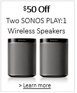 SONOS PLAY:1 Promotion