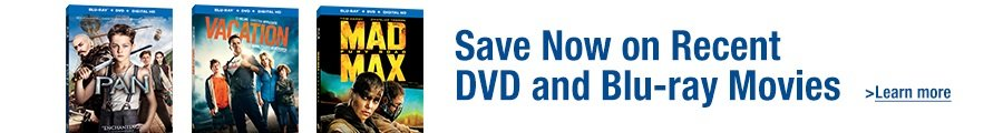 Save Now on Recent DVD and Blu-ray Movies