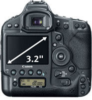 Canon EOS-1D X Screen at Canon EOS-1D X 18.1MP Digital SLR Camera