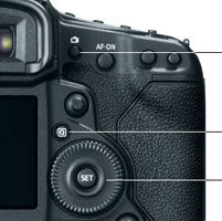 Canon EOS-1D X Controls at Canon EOS-1D X 18.1MP Digital SLR Camera