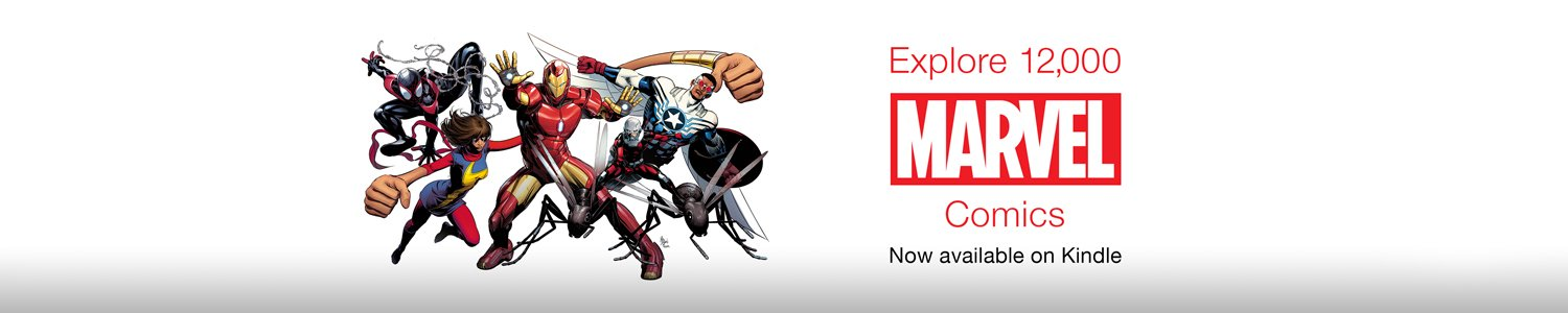 Marvel Comics Now Available on Kindle