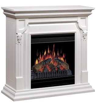 Amazon.com - Dimplex Warren Convertible Electric Fireplace, CFP3902W