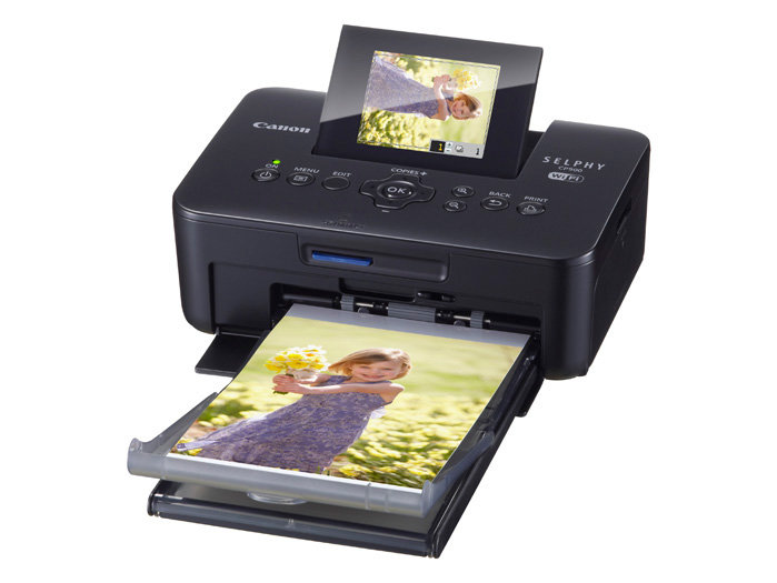 Canon Selphy Cp Black Portable Wireless Compact Photo Color Printer