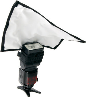 Rogue FlashBender Large Reflector Tilted
