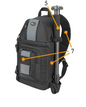 Lowepro SlingShot 202-tripod at Amazon.com