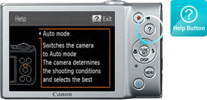 Canon PowerShot A4400IS Help at Amazon.com