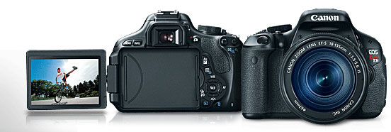 Canon T3i DSLR on Amazon.com