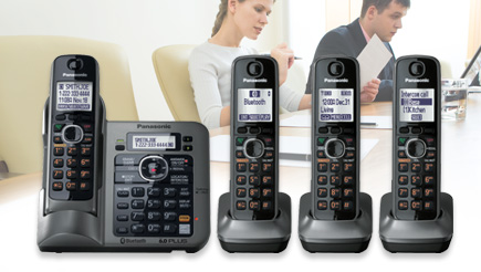 KX-TG7644M Phone