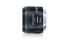 Canon EF 28mm f/2.8 lens at Amazon.com