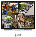 Quad Split-Screen