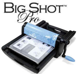 sizzix big pro die cutting machine