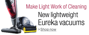 New Lightweight Vacuums from Eureka