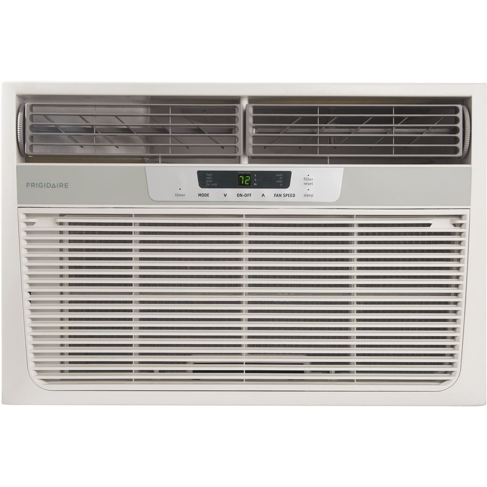Frigidaire fra08pzu1 8 000 btu cool 3 500 btu heat compact for 1 5 ton window ac unit consumption per hour