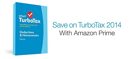 Save on TurboTax 2014 with Amazon Prime