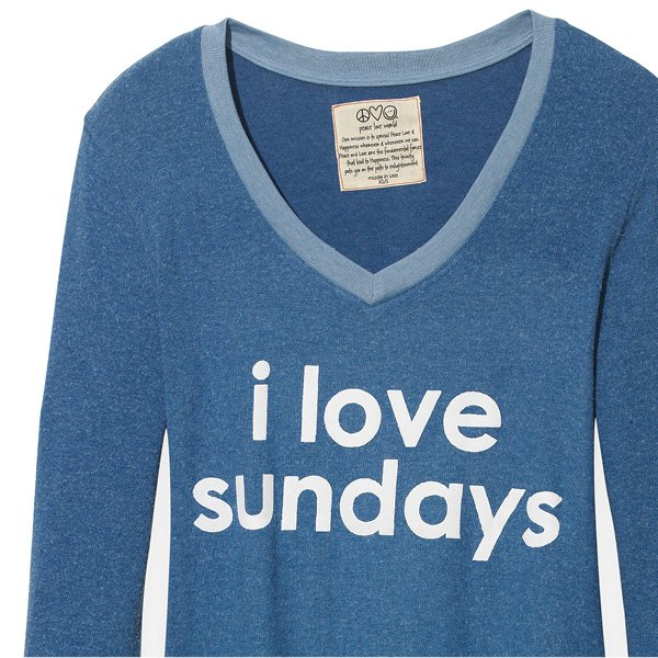 I Love Sundays Tee