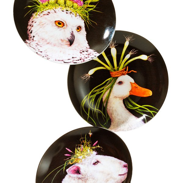 Bone China Appetizer Plates