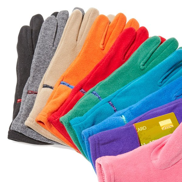 Touch Sensor Fleece Gloves