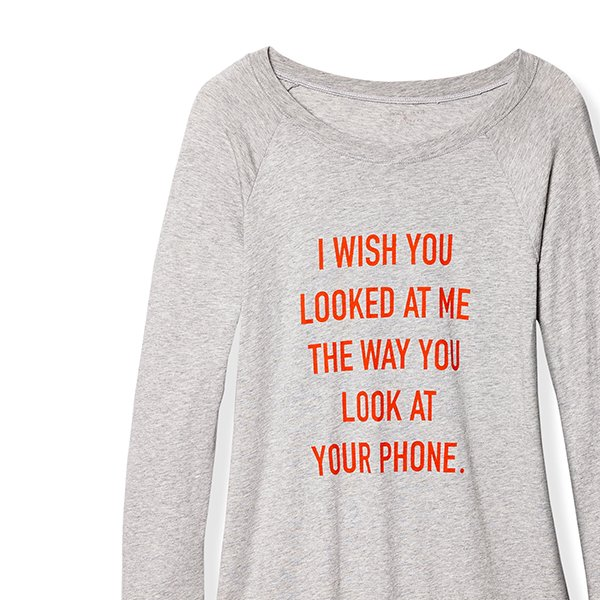 I Wish You Looked at Me Tee