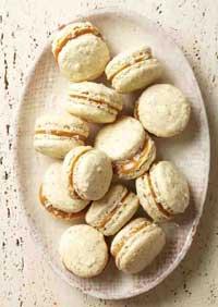 Salted Caramel Macaroon Cookies
