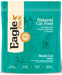 Eagle Pack Multi-Cat Food