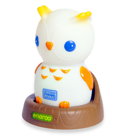 Night Owl is fun and portable, glowing softly at night in yellow, blue, or pink to provide comfort in the dark.