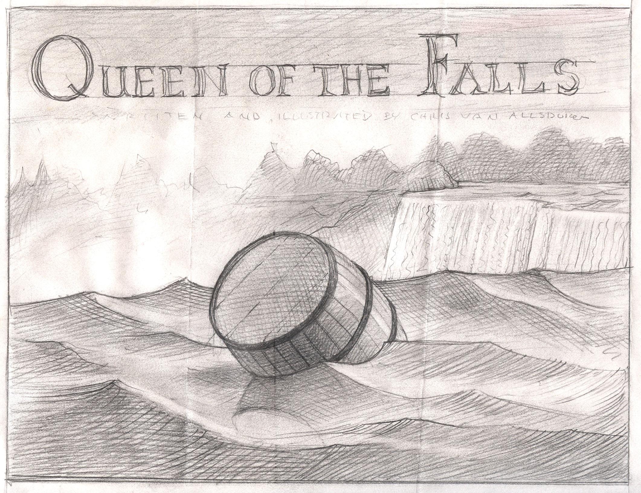 Queen of the Falls: Chris Van Allsburg: 9780547315812