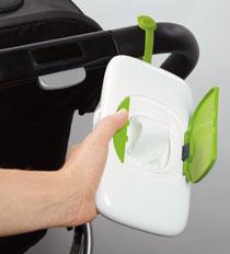 OXO Tot On-the-Go Wipes Dispenser, Green