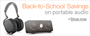 Back to School Savings on Portable Audio