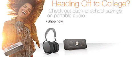 Back-to-School Savings in Portable Audio