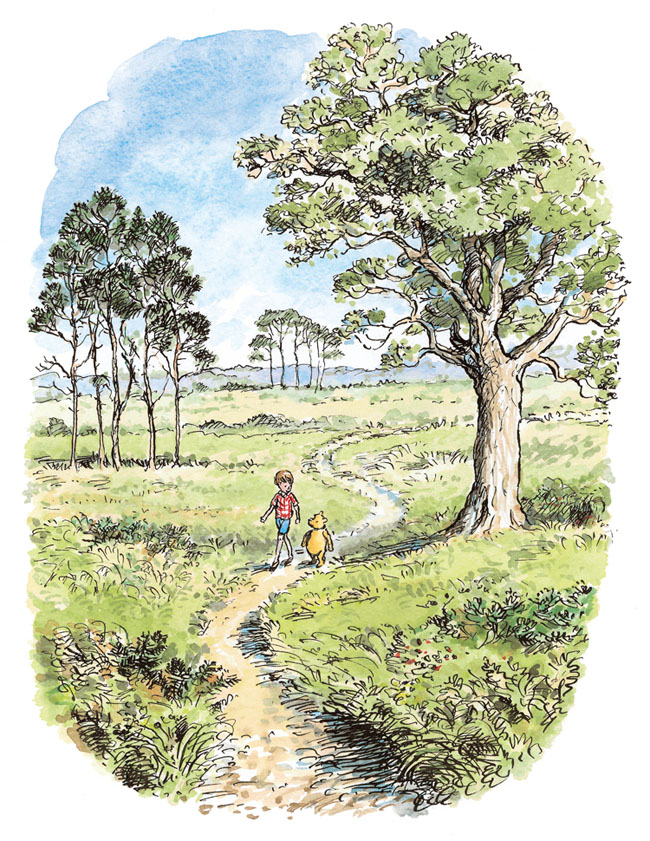 Mark Burgess has previously illustrated Winnie-the-Pooh and other