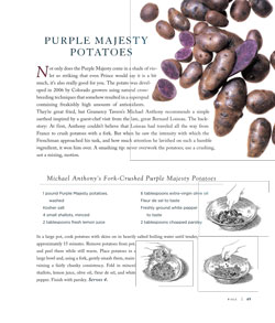 Purple Majesty Potatoes