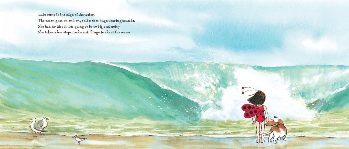 Ladybug Girl at the Beach: David Soman, Jacky Davis: 9780803734166